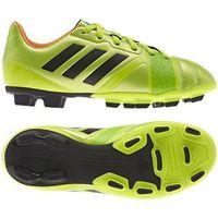 Adidas Buty piłkarskie  nitrocharge 3.0 trx fg jr f32862 - zielony