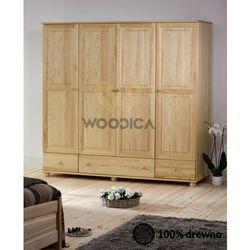 Woodica 14.szafa 4d3s 200x190x60