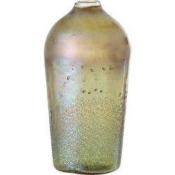 Wazon bloomingville 25 cm zielony szklany