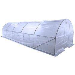 Tunel foliowy HOME&GARDEN 300 x 200 x 800 cm (24 m2) Biały