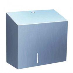 stella duo pojemnik na papier toaletowy z uchwytem na resztkę rolki stal chrom bsp202 marki Merida