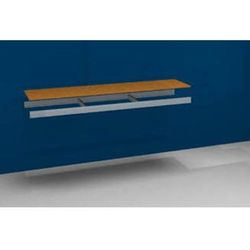 Dodatkowa półka, z trawersami i płytą wiórową, szer. x gł. 2000x500 mm. marki Julius vom hofe
