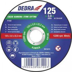Tarcza do cięcia DEDRA F1352 125 x 3.2 x 22.2 do kamienia