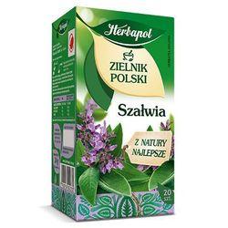 Herbatka ziołowa Zielnik Polski Szałwia EX'20 24 g Herbapol (ziołowa herbata)