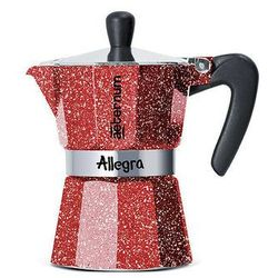 Bialetti aeternum allegra kawiarka 3 tz rubino