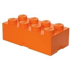 POJEMNIK LEGO 8 POMARAŃCZOWY - LEGO POJEMNIKI, 9129