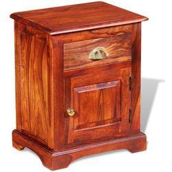 vidaXL Szafka nocna z drewna różanego Sheesham 40 x 30 50 cm