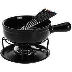 Ceramiczny zestaw do fondue - dla 6 osób, rozmiar xxl od producenta Eh excellent houseware