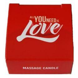 All you need is love – świeczka do masażu - produkt z kategorii- Pozostała erotyka