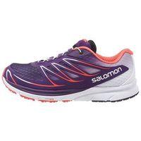 Salomon SENSE MANTRA 3 Obuwie do biegania Szlak cosmic purple/white/coral punch - produkt z kategorii- obuwie
