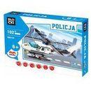 Policja Helikopter 102 elementów Blocki