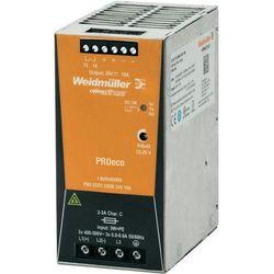 Zasilacz na szynę DIN Weidmueller PRO ECO3 240W 24 V 10A 24 V/DC 10 A 240 W 1 x - produkt z kategorii- Transf