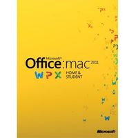 Microsoft Office Home and Student 2011 MAC PL (oprogramowanie)