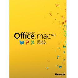 Microsoft Office Home and Student 2011 MAC PL (oprogramowanie)