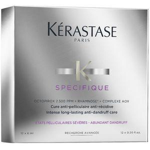 Kerastase Specifique Intense Long-Lasting Anti-Dandruff Care | Kuracja przeciwłupieżowa 12x6ml