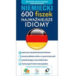 Niemiecki 600 fiszek Najważniejsze idiomy - z kategorii- pozostałe artykuły szkolne i plastyczne