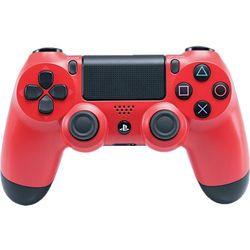 Kontroler PS4 SONY Pad DualShock 4 V2 Czerwony + Zamów z DOSTAWĄ W PONIEDZIAŁEK! + DARMOWY TRANSPOR