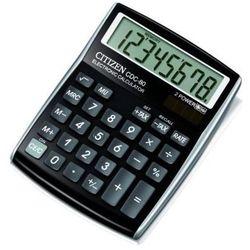 Kalkulator CITIZEN CDC-80BKWB Czarny, CDC-80BKWB
