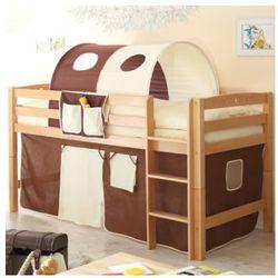 Ticaa kindermöbel Ticaa łóżko piętrowe timmy r buk, naturalny - brązowy/beżowy