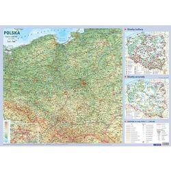 Demart Mapa polski - plansza edukacyjna na ścianę i biurko