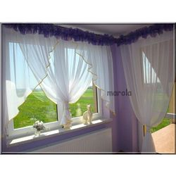 108 okno+ balkon - świetna nowa firana - tubki marki Marola