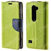 Kabura pokrowiec Fancy Series LG Leon zielony jasny granatowy - Zielony jasny ||Granatowy (7426757222633)