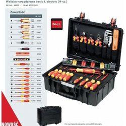 WIHA Walizka narzędziowa basic L electric 34-cz., 37236