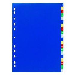 Przekładki PP A4, kolorowe indeksy, A-Z, 20 części (4005546600000)