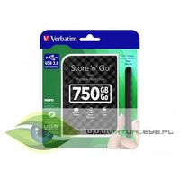 Store'n'Go 750 GB 2,5'' GEN2 USB 3.0 czarny