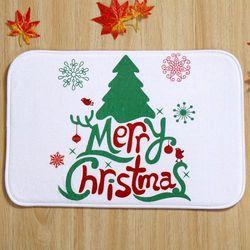 Christmas Absorbent Anti-slip Doormat Carpet