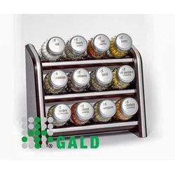 Gald  półka z przyprawami 12-el venge mat 5901832921035