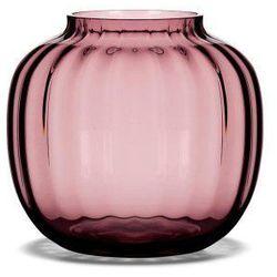Holmegaard Szklany wazon primula, śliwkowy, niski - (5706422102999)