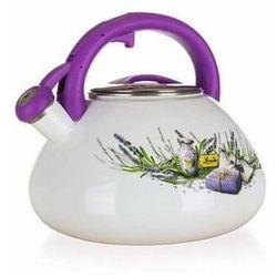 emaliowany czajnik z gwizdkiem lavender 3 l marki Banquet