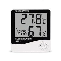 Stacja Pogody Termometr + Higrometr Wewnętrzny/Zewnętrzny