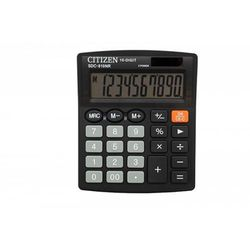 Kalkulator CITIZEN SDC-810NR 10-cyfrowy 127x105mm czarny, CI-SDC810NR