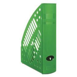 Pojemnik na dokumenty ażurowy DONAU, polistyren, A4, zielony