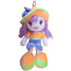 Lalka karolina w kapeluszu 20 cm, pomarańczowa - , marki Axiom