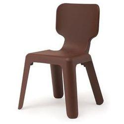 Krzesełko alma brązowe marki Magis