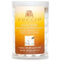 Cuccio  manicure soak with milk & honey kulki sanitarne do manicure (100 szt.)