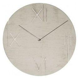 Nextime:: Zegar Ścienny Galileo ø 43 cm Biały z ramką podświetlającą