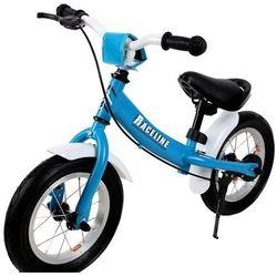 Rower rowerek biegowy stalowy hamulec błotniki, marki Wideshop