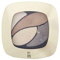 L'Oréal Poczwórne cienie Color Riche Quad – E1 Beige Trench – 2.5 g (3600522203520)