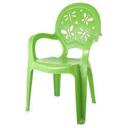 Krzesełko dziecięce zielone marki Pucuś