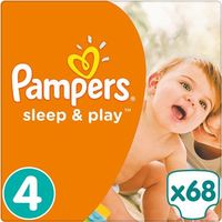 PAMPERS Sleep&Play 4 MAXI 68 szt. (7-14 kg) JUMBO PACK – pieluszki jednorazowe, kup u jednego z partnerów