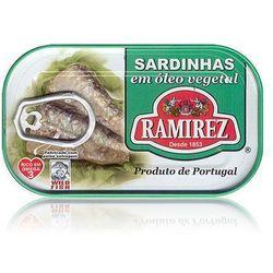 Sardynki portugalskie w oleju roślinnym Ramirez 125g. - sprawdź w wybranym sklepie