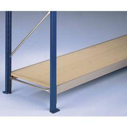 Półka do regału o dużej rozpiętości, z wkładkami z płyt wiórowych 19 mm, dł. tra