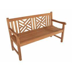 Ławka ogrodowa SUNDA z drewna tekowego