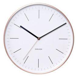 Karlsson :: zegar ścienny minimal white