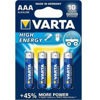 4 x Varta High Energy LR03 AAA (blister), W21