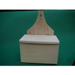 Solniczka drewniana z klapką marki Rękodzielnik